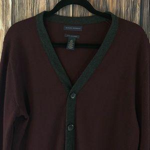 Men's Banana Republic Cardigan Sweater (M)